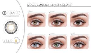 لنز چشم گریس شماره 11 پریمیوم grace Eye lens