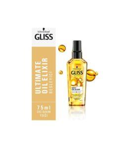 روغن آرگان گلیس برای موهای آسیب دیده مدل Oil DAILY Gliss