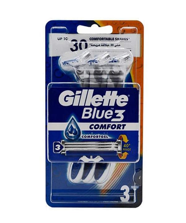 خودتراش ژیلت بلوتیری (blue 3 gillette)